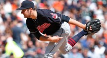 Cleveland Indians pitcher Trevor Bauer (Paul Sancya/AP)